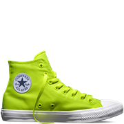 Converse All Star High  Volt Green/White