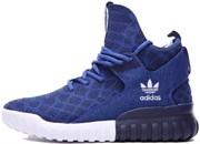 Adidas Tubular High  (Blue)