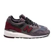 new balance 997 GreyRed