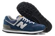 "New Balance 574 ""Classic"" (Navy Blue)"
