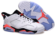 Nike Air Jordan 6 Retro Low (WhiteInfrared 23-Black)