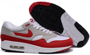 Nike Air Max 1 (87) (Light AnthraciteUneversity RedWhite)