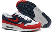 Nike Air Max 1 (87) Men (Midnight NavyAction RedWhiteNeptune Blue)