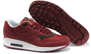Nike Air Max 1 (87) Men (Team RedVelvet BrownWhite)