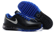 Nike Air Max 2014 Leather Men (BlackBlue)