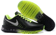 Nike Air Max 2014 Leather Men (BlackGreen)