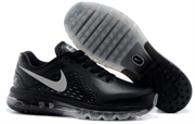 Nike Air Max 2014 Leather Men (BlackSilver)
