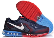 Nike Air Max 2014 Leather (Dark BlueRedBlue)