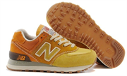 New Balance 574 Gradient Pack (Yellow Orange)
