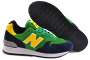 New Balance 670 (GreenYellowDark Blue)
