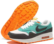 Nike Air Max 1 (87) Essential Women (White IronOre JadeAtomicOrange)