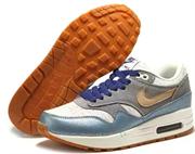 Nike Air Max 1 (87) Premium Women (Metallic SilverVacchetta TanMetallic Clay)