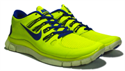 Nike Free Run 5.0 Lime/Blakc мужские