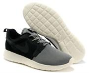 Nike Roshe Run черно-серые (Euro 40-45)