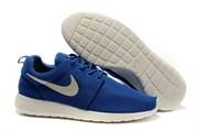 Nike Roshe Run Men's синие с белым (Euro 40-45)
