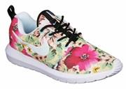 Nike Roshe Run Women's розовые цветы (Euro 36-40)