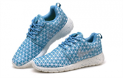 Nike Roshe Run Triangle Sequins голубые (Euro 36-40)