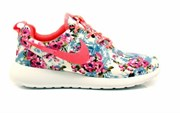Nike Roshe Run Women Flower pink/blue (Euro 36-40)