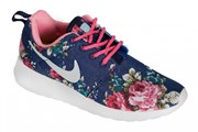 Nike RosheRun Flowers синий, красный (Euro 36-40)