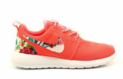 Nike Roshe Run watermelon/white Flowers (Euro 36-40)