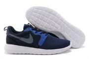 Nike Roshe Run Hyperfuse QS Men (Mid-Navy/Wolf-Grey/Dark-Obsidian)