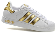 Adidas Superstar белые White Gold