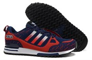Adidas ZX 750 Blue Red Flyknit