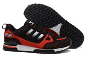Adidas ZX 750 Black Red Flyknit