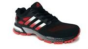 Adidas Marathon Flyknit черный/красный/белый (black/red/white)