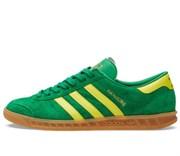 Adidas Hamburg Green, Bright Yellow