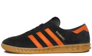 Adidas Hamburg Core Black Collegiate Orange