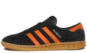 Adidas Hamburg Core Black Collegiate Orange