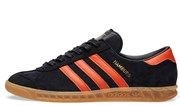 Adidas Hamburg Brussels Core Black & Red