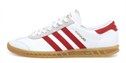 Adidas Hamburg White Red
