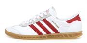 Adidas Hamburg White Red