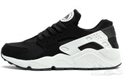 Nike Air Huarache Men (Triple Black/White Luminous)