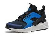 Nike Air Huarache Men (Black/White/Lyon Blue)