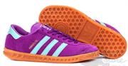 Adidas Hamburg Purple Turquoise Gum
