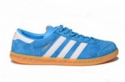 Adidas Hamburg Light Blue White