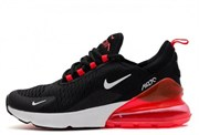 Кроссовки Nike Air Max 270 Black Red White