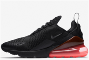 Nike Air Max 270 Black Hot Punch