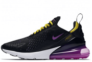 Nike Air Max 270 Black Hyper Grape Toure Yellow