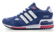 Adidas ZX 750 Light Blue Red