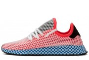 Adidas Deerupt Runner Solar Red Blue Brid