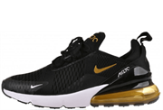 Nike Air Max 270 Black Gold