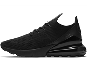 Nike Air Max 270 Flyknit Triple Black