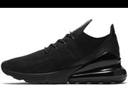 Nike Air Max 270 Flyknit Triple Black