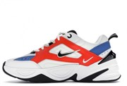 Nike M2K Tekno White Team Orange