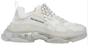 Balenciaga Triple S Clear Sole White
