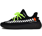 Adidas Yeezy Boost 350 V2 X Off White Custom Black